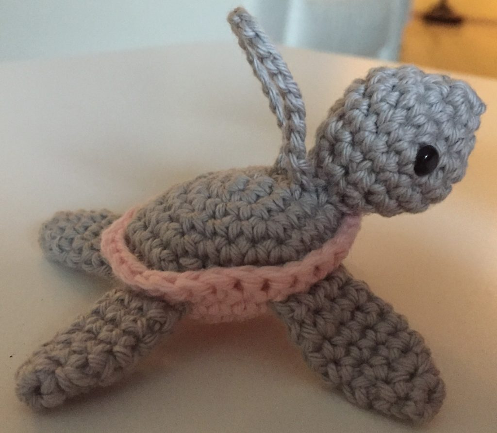 Gratis haakpatroon schildpad, amigurumi