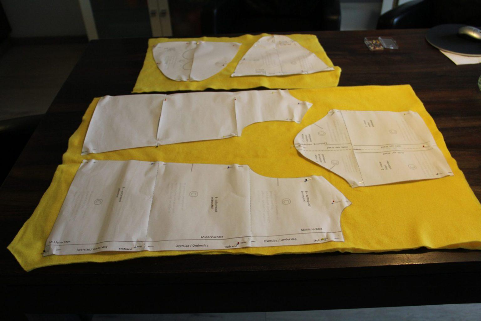 Maak zelf een Bumbapak; pdf naaipatroon