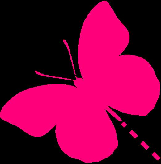 Logootje | De vrolijke roze vlinder