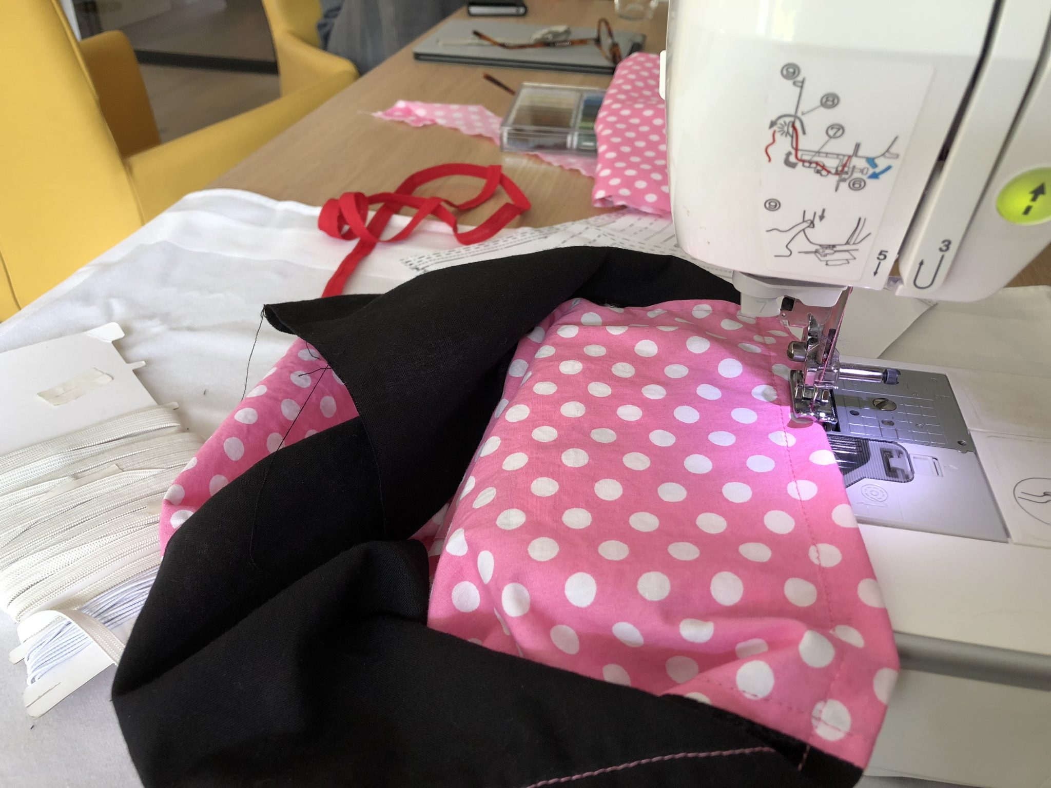 Gratis naaipatroon Minnie Mouse jurkje