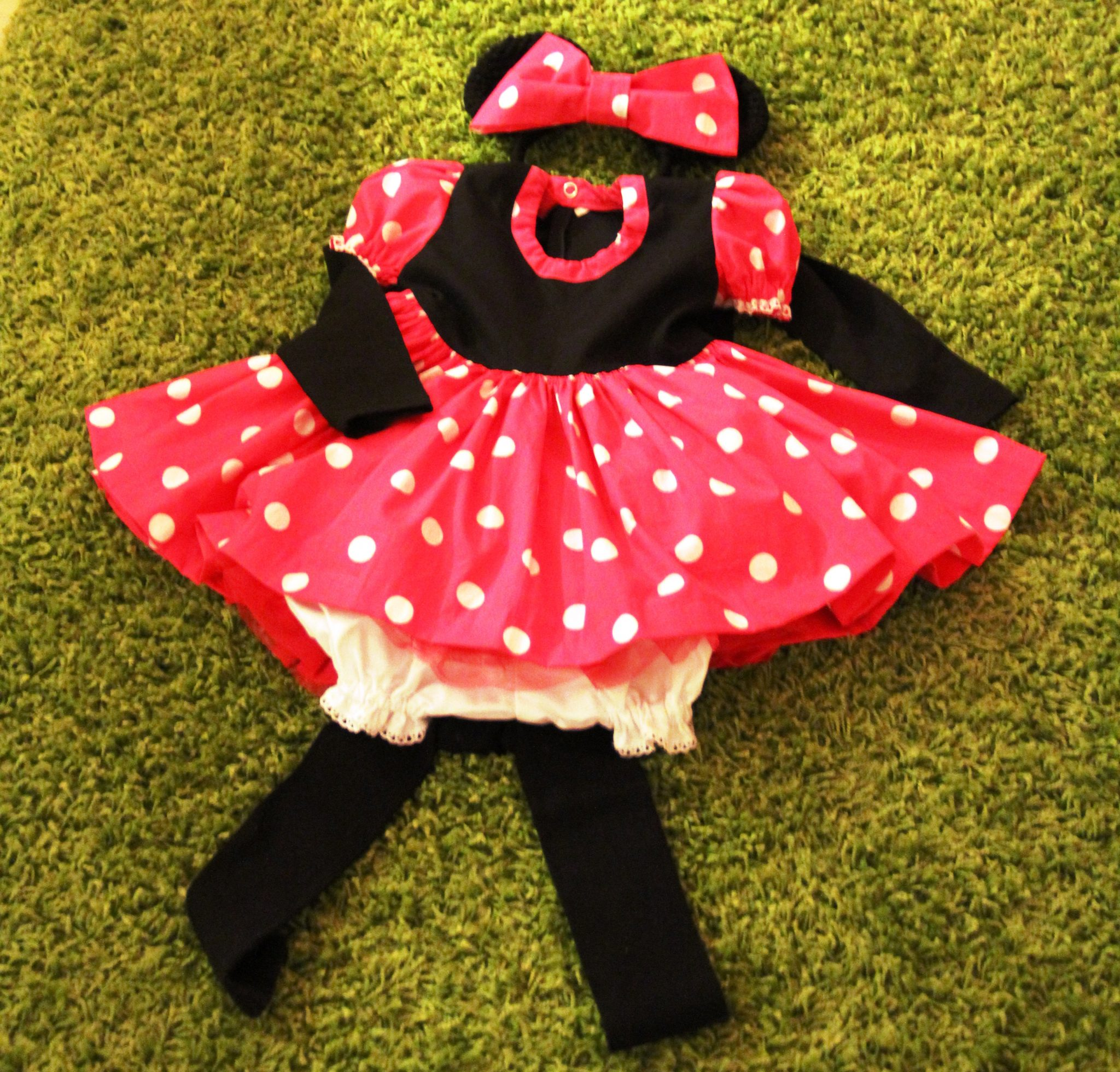 Gratis naaipatroon Minnie Mouse jurk