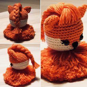 Oranje (voetbal) leeuwin met gratis haakpatroon