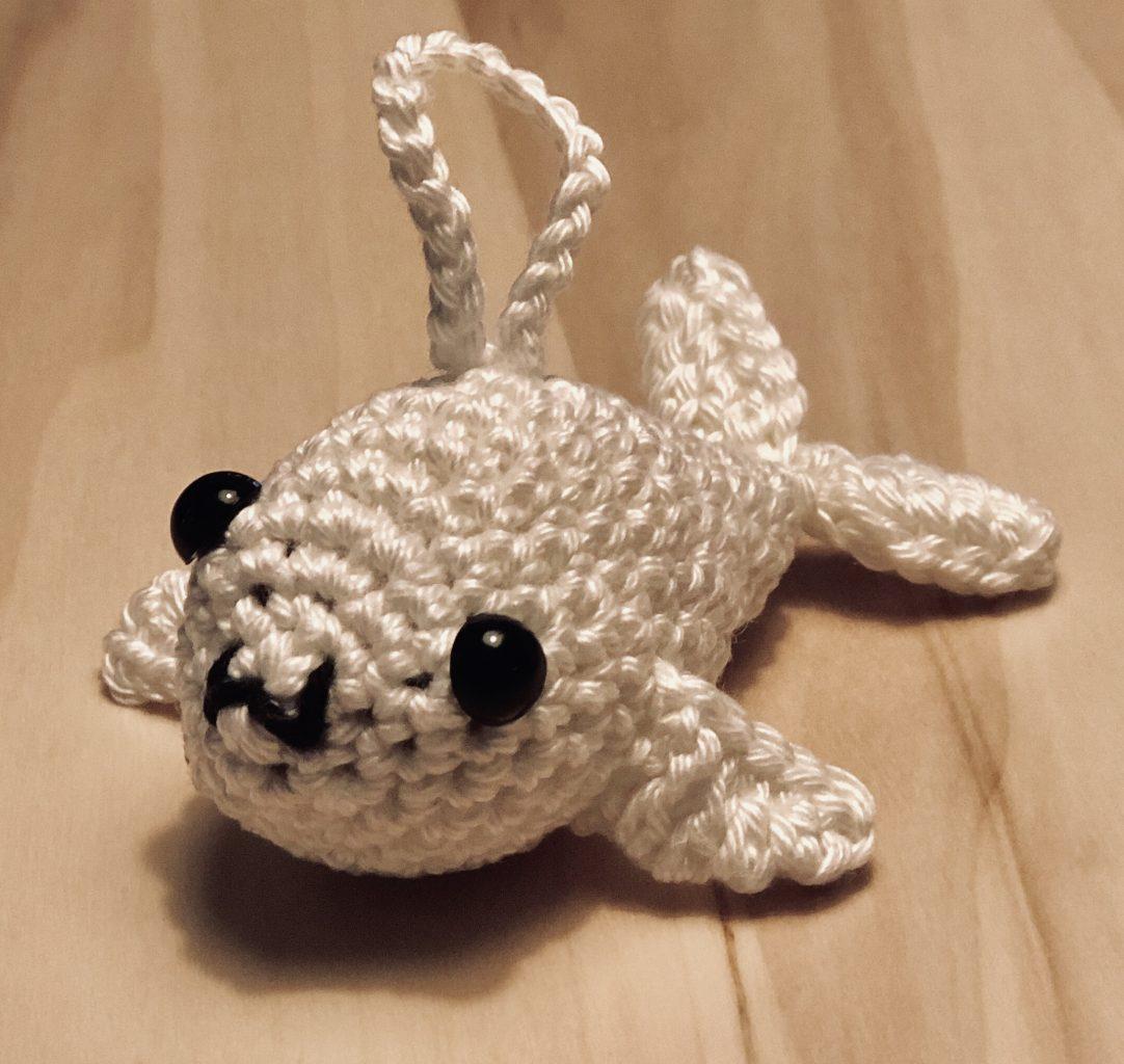 Gehaakt baby zeehondje